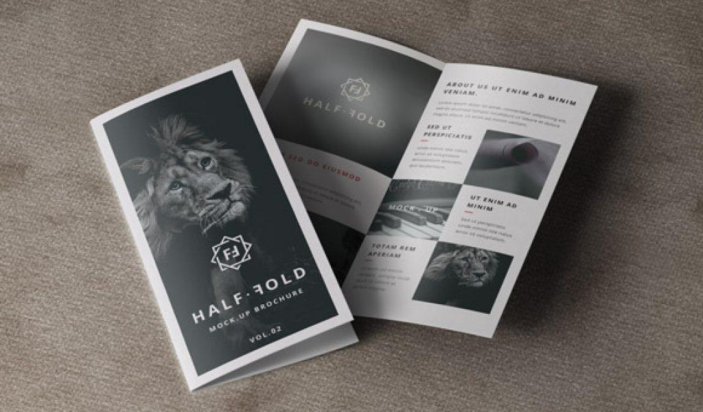 Bifoldbrochuremockupbifoldbrochuremockuppsdpsdbifold - Brochure mockup template